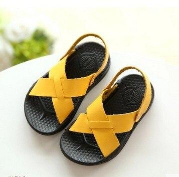 2016 новых детей сандалии мягкие мягкое дно обувь ребенка малыша обувь сандалии