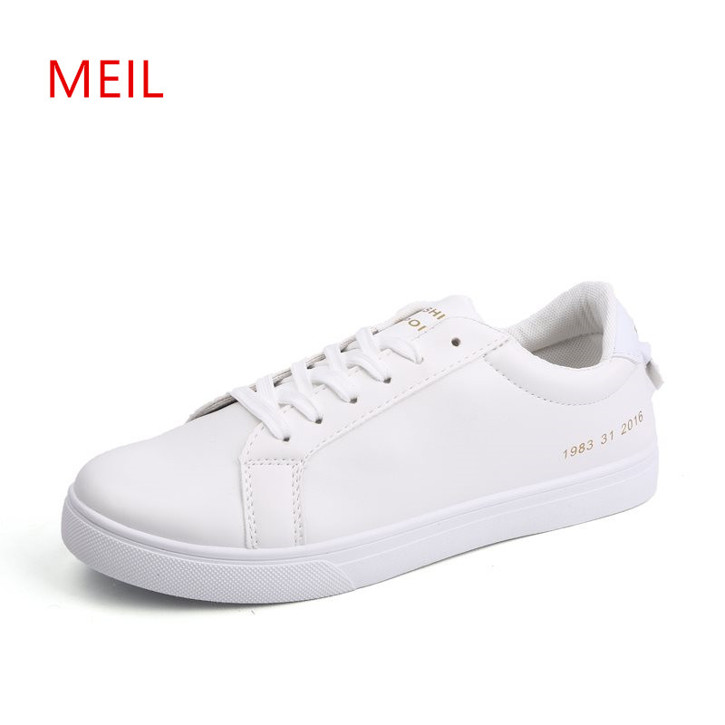 Sneakers Men Casual Leather Shoes Men 2018 Fashion Mans Shoes Casual Breathable Leather Driving Shoes For Men Student Sneakers in Men 39 s Casual Shoes from Shoes