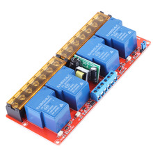 цена VBESTLIFE AC 100-250V 30A 4 Channel Relay High Low Level Trigger Module Solid State Relay Module Board High/Low Level Trigger онлайн в 2017 году