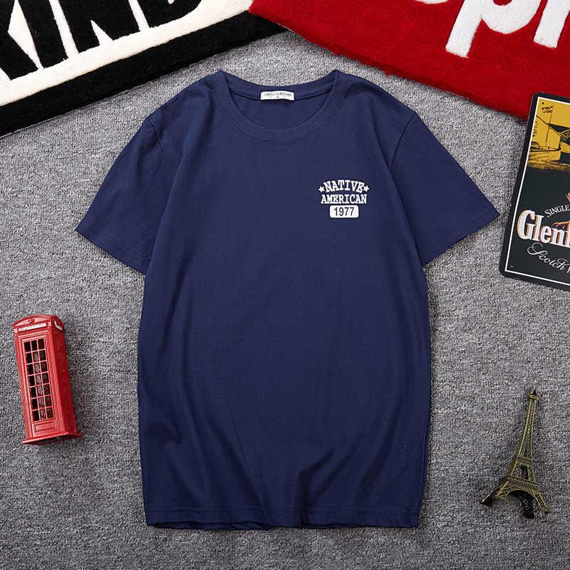 남성 짧은 소매 티셔츠 여름 편안한 큰 크기 남성 의류 큰 남자 레저 낯선 사람 플러스 크기 M-8XL 9XL 10XL
