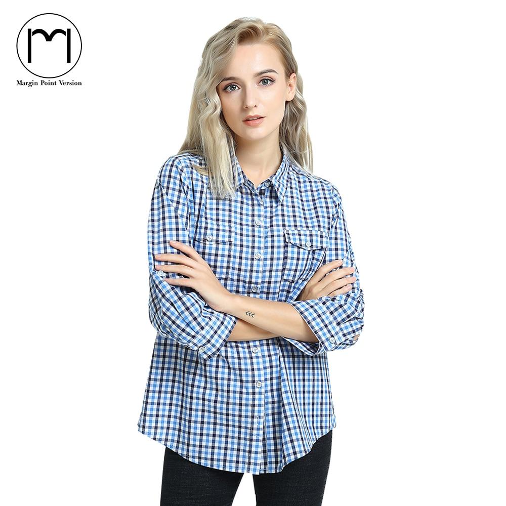 Marge Streetwear Blusen 2017 Sommer Langarm Baumwolle Bluse Shirt Frauen Tops 4XL Plus Größe Blusas Feminina