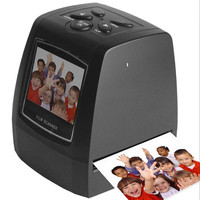 Ultra High Resolution Photo Scanner 35/135mm Slide Film Digital Scanner USB Film Converter 2.36 LCD screen Business Card Scanner