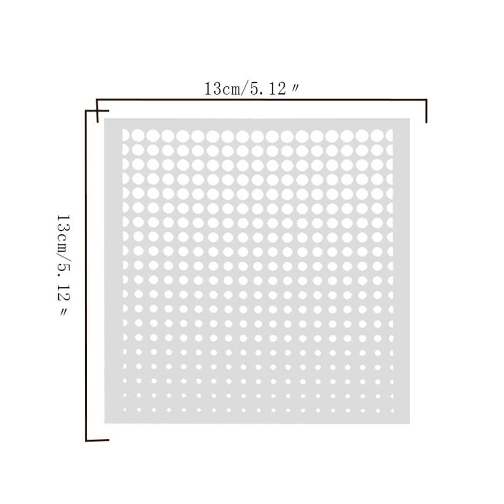 1 PC วงกลม Layering Stencils สำหรับผนังจิตรกรรม Scrapbooking แสตมป์ Photo Album Decor Embossing กระดาษการ์ด DIY การ์ดทำ