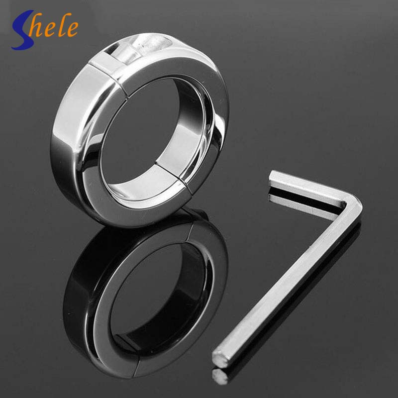 Stainless Steel Penis Cock Ring Sex Toys For Men Removable Lock Sperm Delay Ejaculation Lock  the Foreskin Cock Cage Penis Rings 100% 316l stainless steel cock ring sex toys for men penis ring metal cockring ballstretcher dick rings delay for man