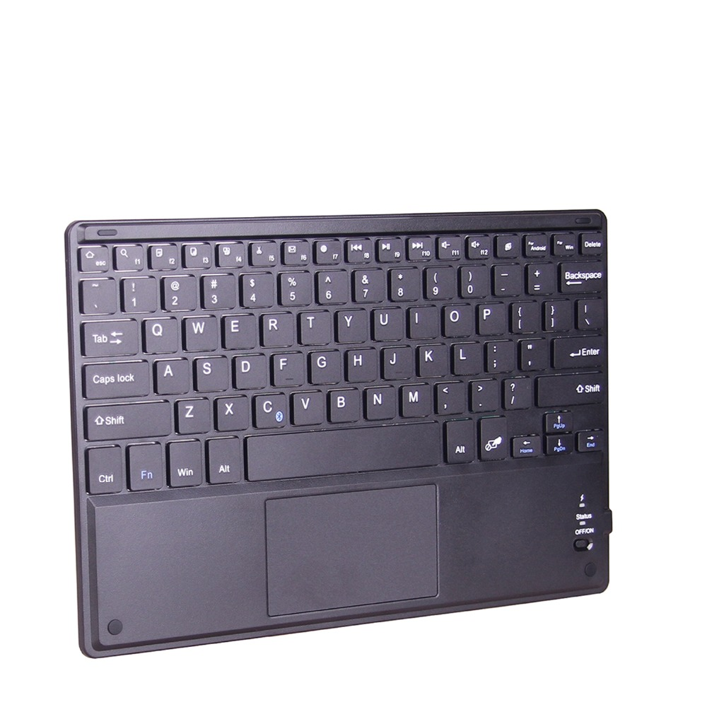 Zienstar 10 inch Wireless Bluetooth keyboard with Touchpad For PC Computer/ Samsung Tab/ Microsoft/ Android /Windows Tablet