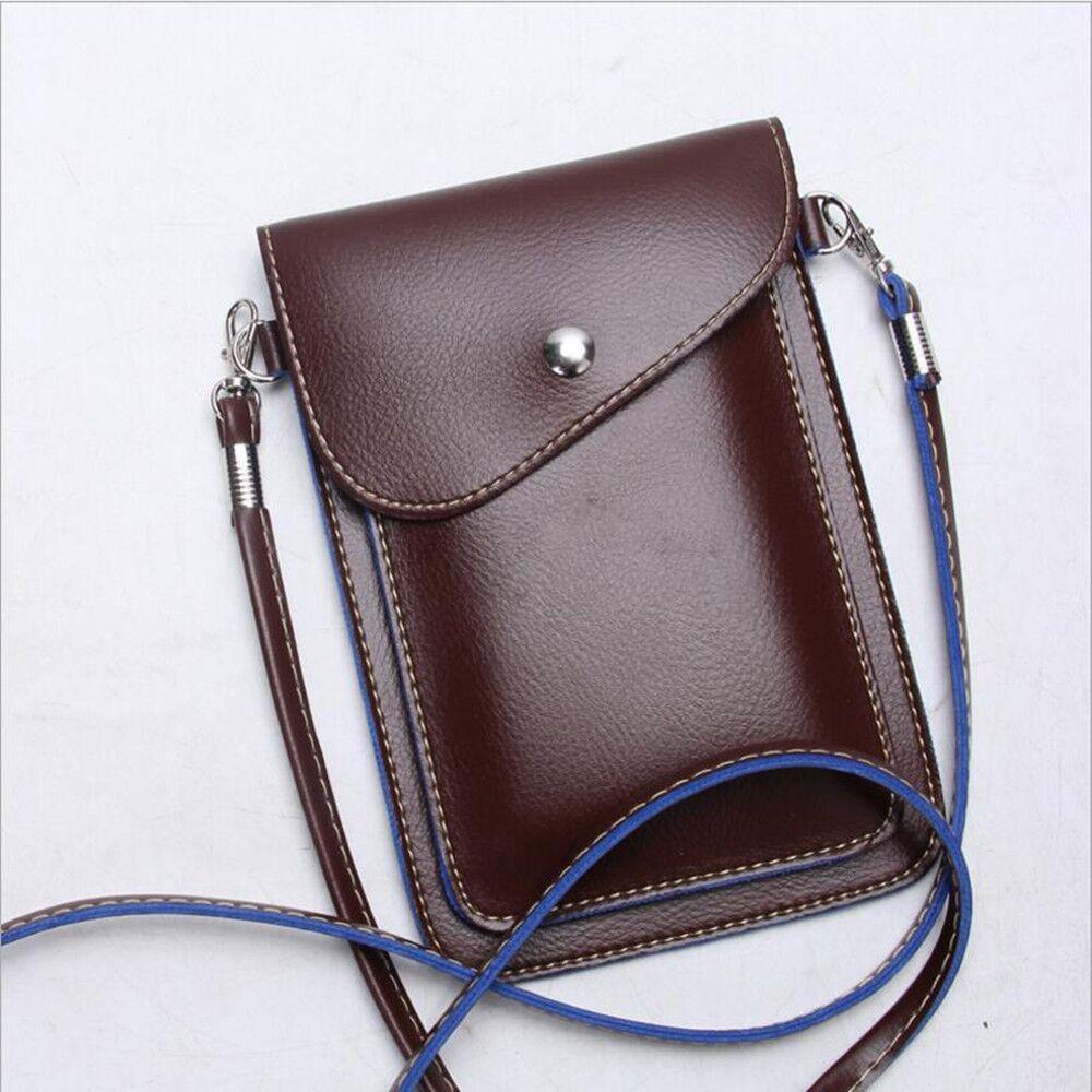 Из искусственной кожи телефон сумка карман кошелек Чехол шейный ремень для Huawei Honor 8 смарт-Магия Примечание 8 играть 5 V8 maimang 5
