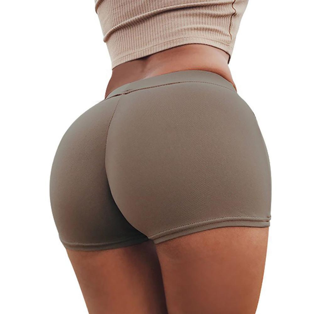 Activewear מכנסיים נשים קיץ מכנסיים קצרים מזדמנים ספורט מכנסיים אימון חגורת סקיני מכנסיים