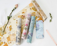 20cm 5m Vintage Washi Tapes Phone Notebook Album Decoration Stationery Supply Paper Tape Self Adhesive Stickers