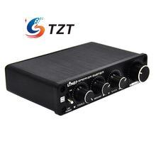 Четыре В Четыре-Выход Звуковой Эффектор 4 Независимых Канала Контроллер Предусилитель для Автомобилей Автомобиля A927