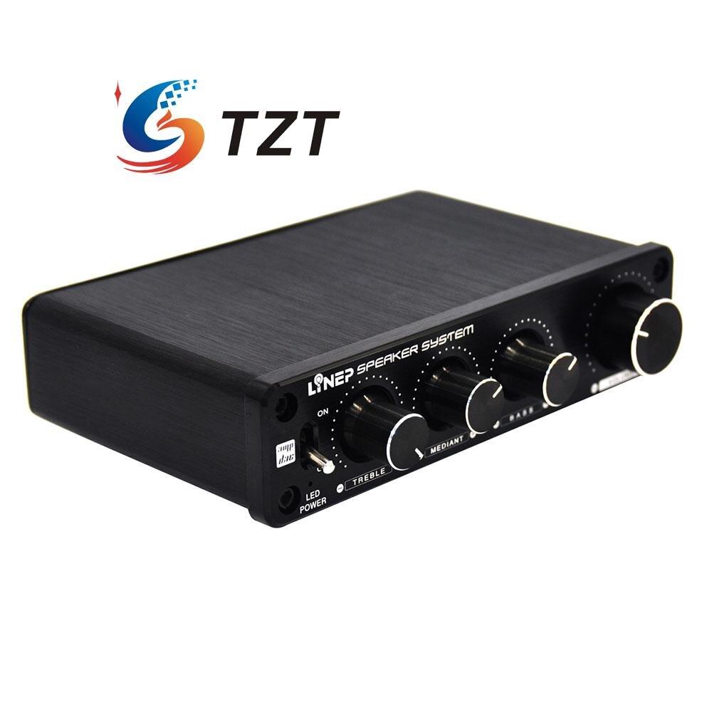 bilder für Vier-In Vier-Aus Ton Effektor Unabhängige 4 Kanal Controller Vorverstärker für Auto Fahrzeug A927