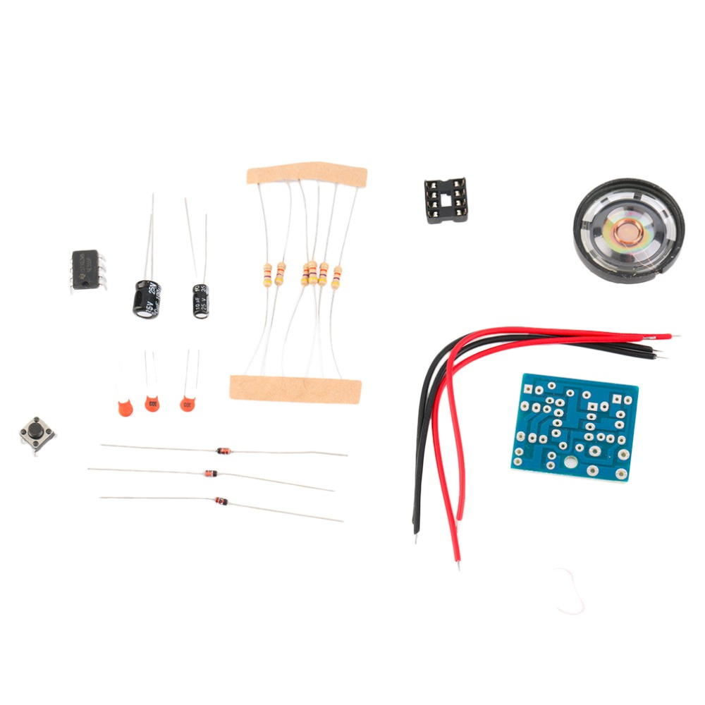 2018 NEW Arrival Doorbell Suite Electronic Production Perfect Doorbell Suite DIY Kit NE555 100% brand New And High Quality