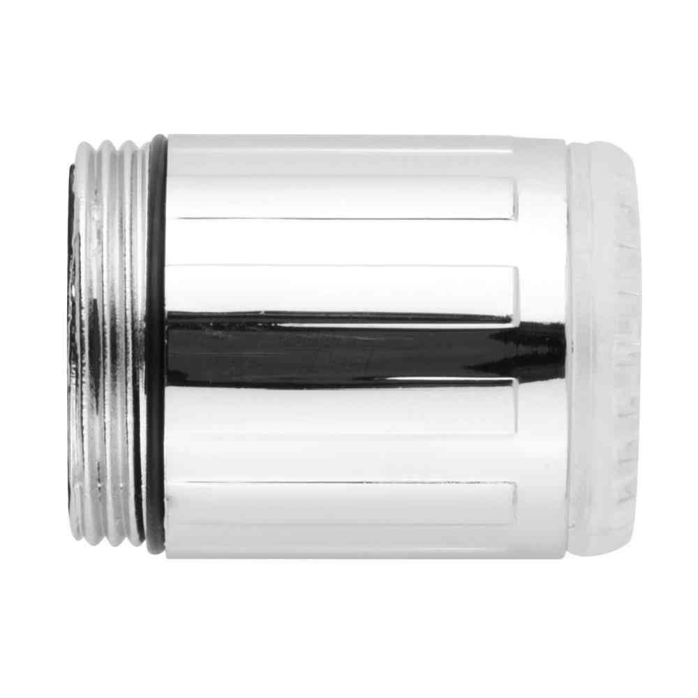 1 ピース水蛇口ライト LED 7 色の変更グロタップユニバーサルアダプタ外部左ねじ Glow キッチン浴室
