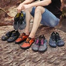 2020 Мужская и женская обувь с пятью пальцами, летняя водонепроницаемая обувь для улицы, легкая мужская обувь Aqua, спортивные кроссовки для фитнеса