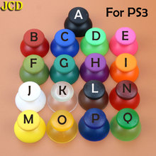 JCD 1pcs แบบอะนาล็อกจอยสติ๊กเห็ดสำหรับ Sony PlayStation DualShock 3 PS3 Controller 13 สี 3D Analog จอยสติ๊กฝาครอบ