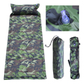 JHO-Self Inflating Camping Roll Mat/Pad Sleeping Bed Inflatable Pillow Mattress +Bag 180*60CM