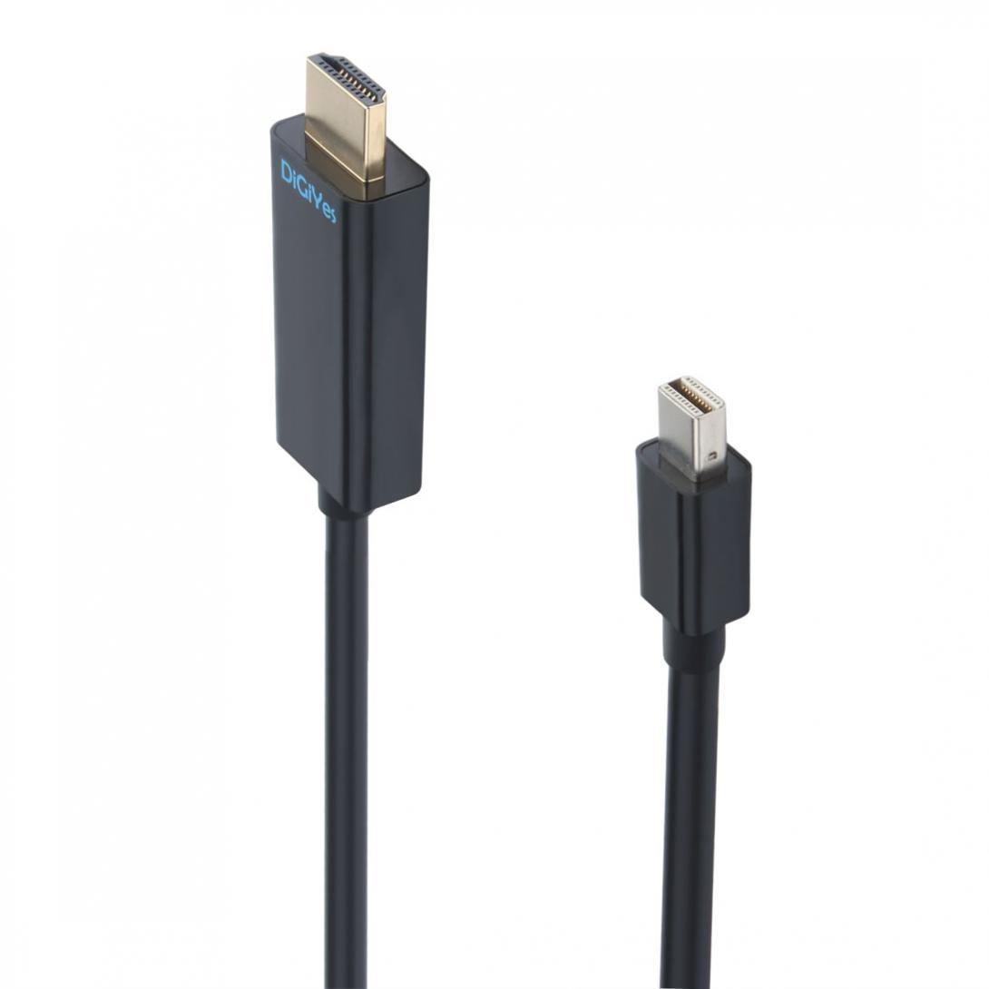 Stecker Auf Stecker QualitäTswaren Zu Hdmi Hdtv Kabel thunderbolt Port Kompatibel 1,8 M/6ft High Speed Gold Überzogene Mini Displayport Volle 1080 P Hd