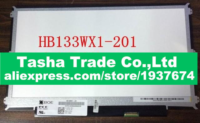 HB133WX1-201 30pin 1366x768 LED laptop Screen panel Display Matte Original New 13.3