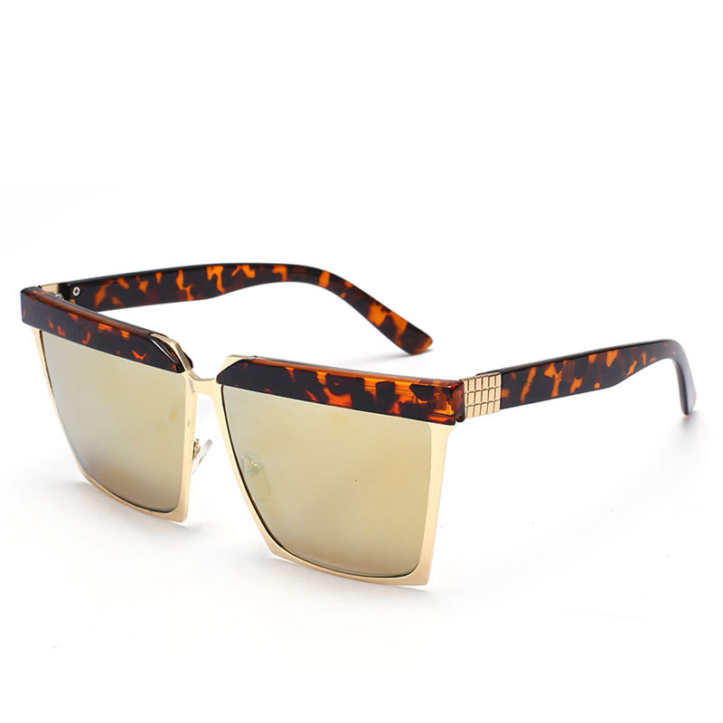 cheap sunglasses for men t26t  Fashion Korea women square sunglasses men high quality cheap leopard sun  glasses multicolor anti-uv
