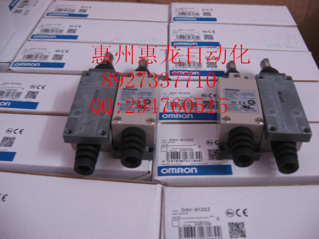 [ZOB] 100% new original OMRON Omron limit switch D4V-8122Z  --5PCS/LOT dhl ems 5 sests for omron limit switch d4n 1132 new in box