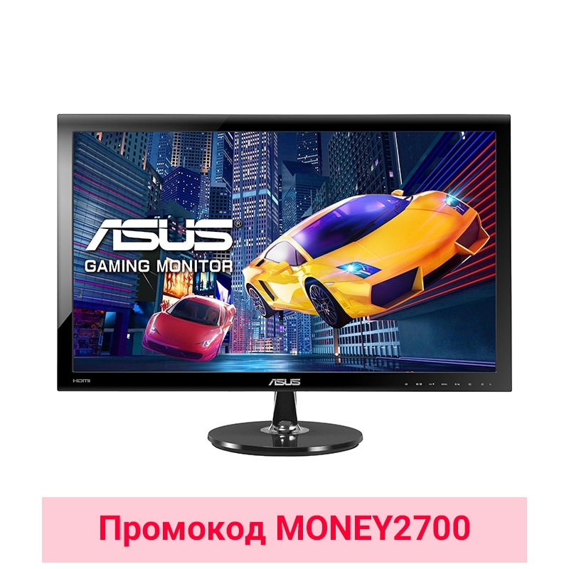 LCD Monitor Asus 27 VS278H wireless 7inch lcd monitor