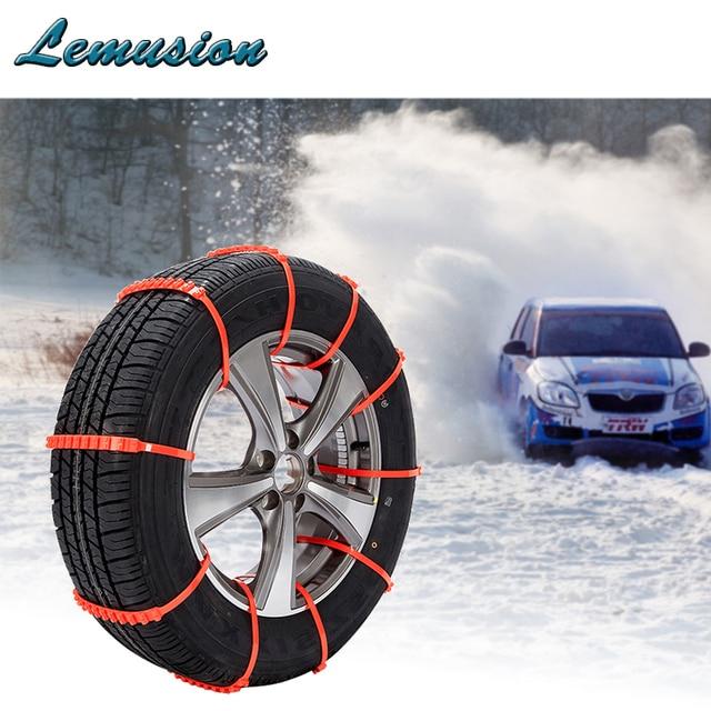 Car Styling 10x Winter Anti Slip Snow Chains For Kia Rio Ceed