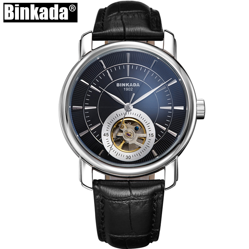 Men Automatic Classic Watch Leather Mechanical Business Wrist Watches Fashion Skeleton Tourbillon Mechanical Watch Reloj Hombre winner fashion men s automatic mechanical watches classic concise precision male wrist watches leather watch bands gift for men