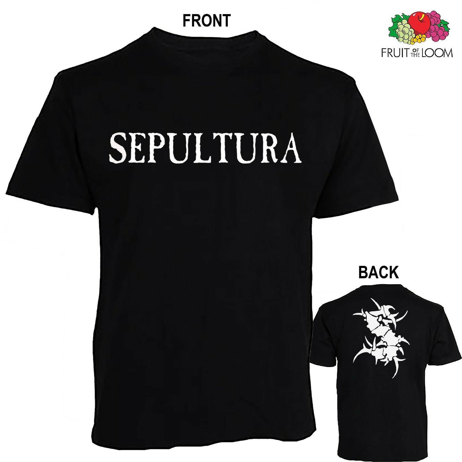 Tailles: S à 6XL T /_ shirt - brésilien de Heavy metal band Sepultura-Chaos A.D