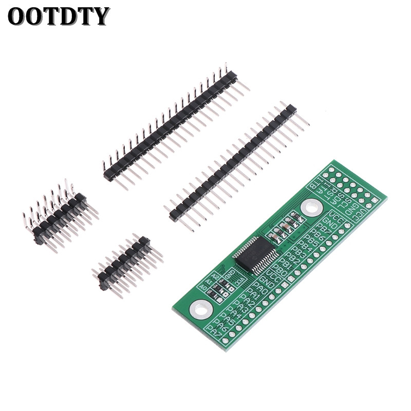 OOTDTY MCP23017 16 Bit IO Port Expander Module Pin Board I2C Interface For Arduino C51 xs056 1 8 tft module for arduino avr pic c51