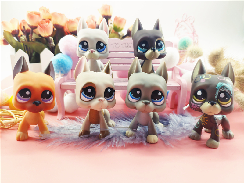 LPS Pet Shop Presents Toys Great Dane Dog Cat Littlest Dolls Action Figures Model High Quality Toys Gifts Cosplay Toy Girl Toy in Action Toy Figures from Toys Hobbies