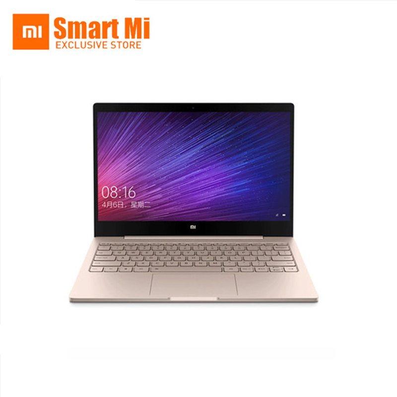 Ouro Xiaomi Inglês Air 12 Notebook Laptop Ultra Slim 12.5 polegada Windows 10 IPS FHD 1920x1080 4 GB RAM 128 GB SSD HDMI 2.2 GHz