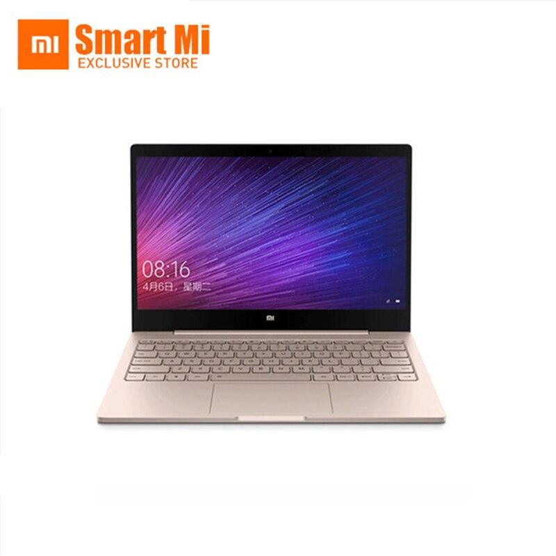Золото английский Xiaomi воздуха 12 ноутбука Тетрадь Ultra Slim 12.5 дюймов Оконные рамы 10 IPS FHD 1920x1080 4 ГБ оперативная память 128 ГБ SSD HDMI 2.2 ГГц