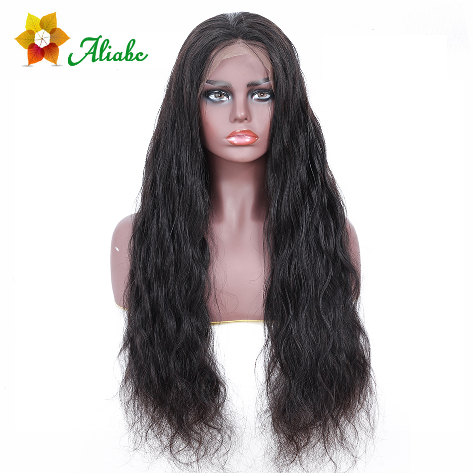 Aliabc 13 4 Lace Front Wigs Body Wave Indian 100 Human Hair Wigs For Black Women