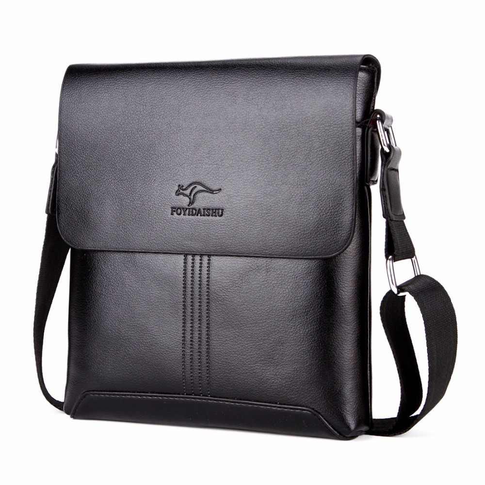 6e3b4cddb272 Известный бренд Лидер продаж однотонные мягкие кожаные для мужчин сумка  модный бренд Мужская сумка через плечо