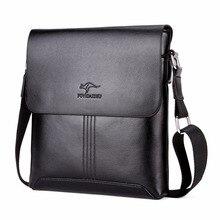 Известный бренд Лидер продаж однотонные мягкие кожаные для мужчин сумка модный бренд Мужская сумка через плечо s сумки