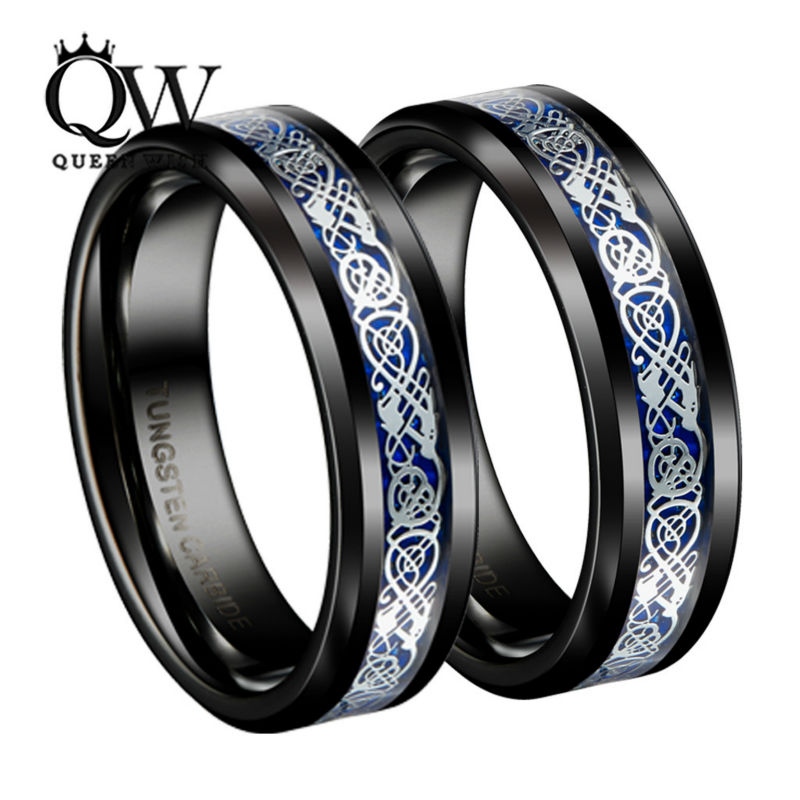 Queenwish Mens Jewelry Black Slivering Celtic Knot