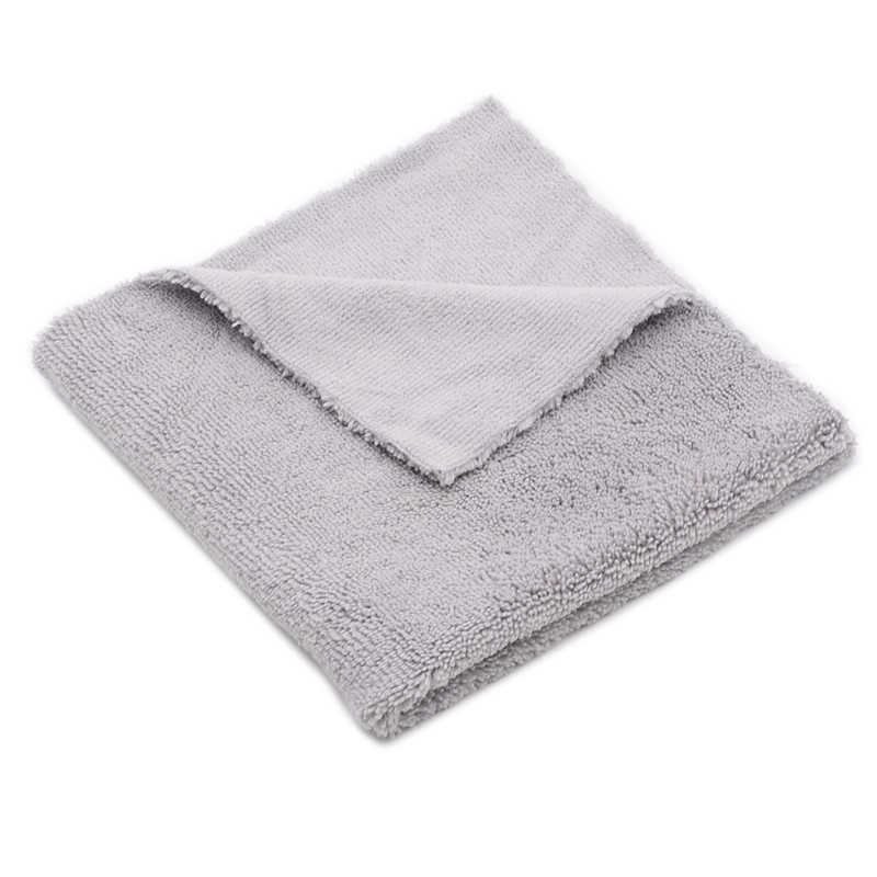 12 шт. 40x40 см супер толстые плюшевые безedgeless полотенца из микрофибры уход за автомобилем чистящие салфетки из микрофибры воск полировки детализация сушки