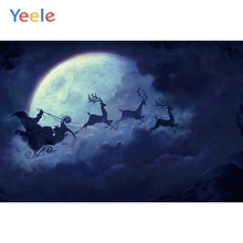 Yeele Christmas Family Party Santa Claus Customized Photography Backdrops Personalized Photographic Backgrounds For Photo Studio