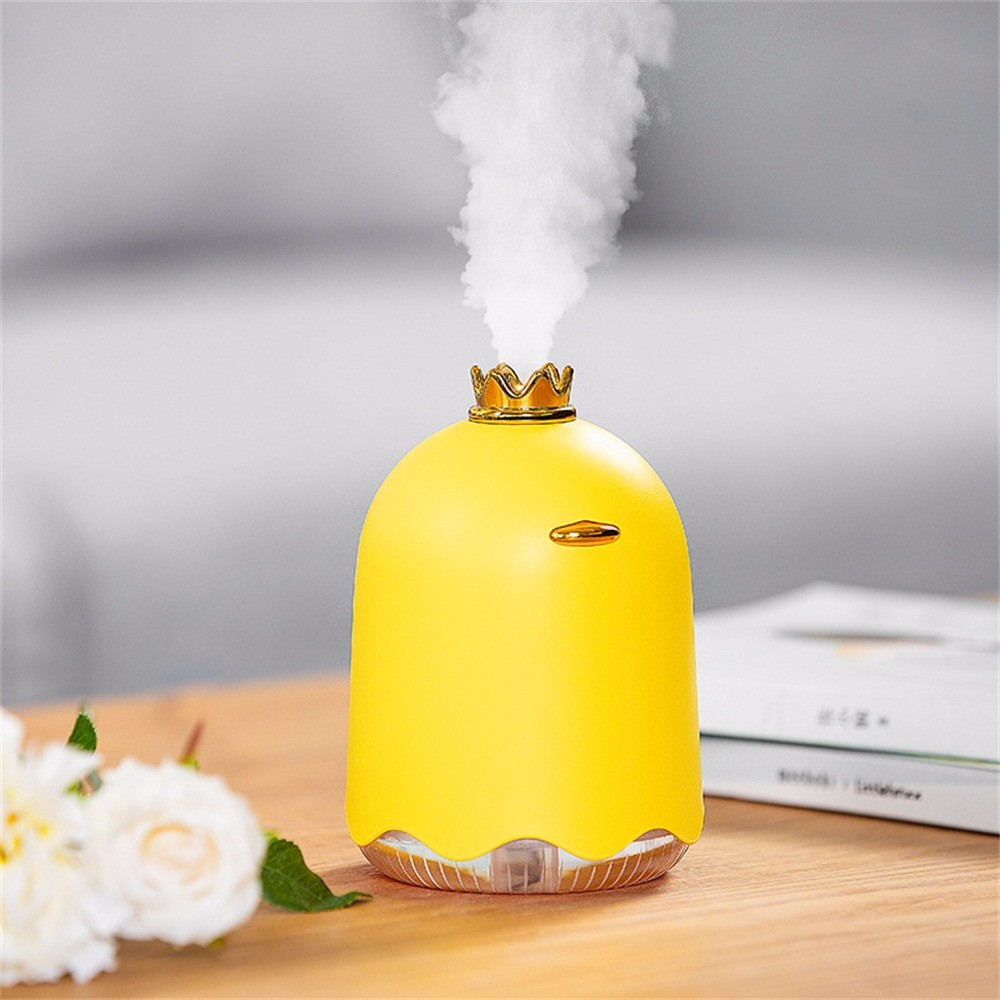 Mini Essential Aromatherapy Oil Diffuser 250ml Cool Mist Ultrasonic Humidifier USB Powered With Night Light  Nano Water Mister