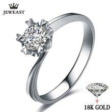 טבעי טבעת יהלום 18k זהב חתונה פתית שלג רומנטית להציע אירוסין נשים מאהב מסיבת יום נישואים חדש טובה אישית