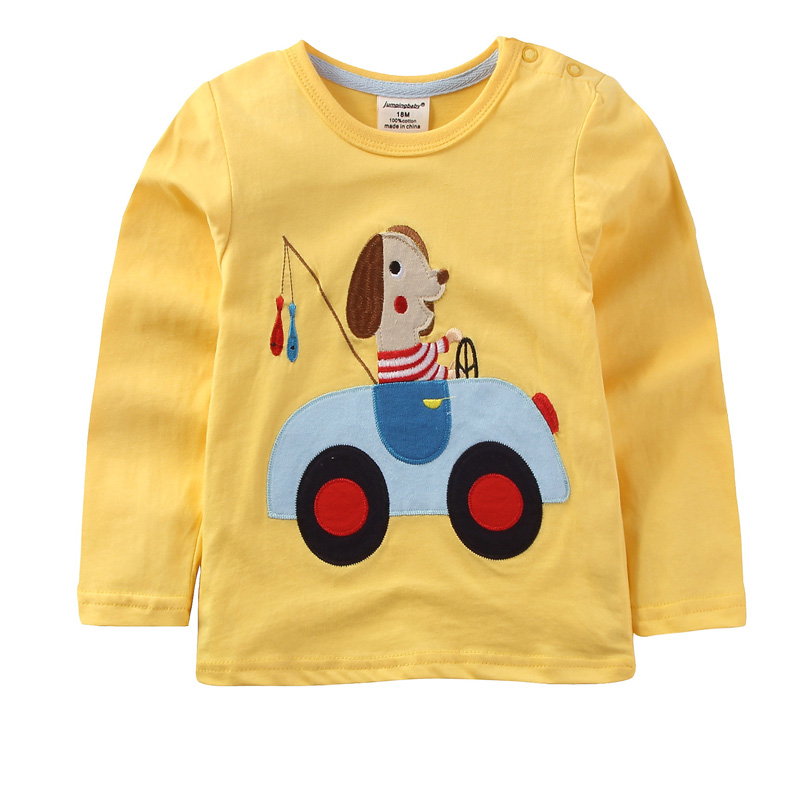 Jumpingbaby 2018 Boys T shirt Baby Boy T-shirt Roupas Infantis Menino Kids Clothes Tshirts Camiseta Children T-shirts Enfant New best battery brand 3 7v mp3 mp4 gps 603048 603048 polymer lithium battery wireless telephone 1000mah page 4 page 3