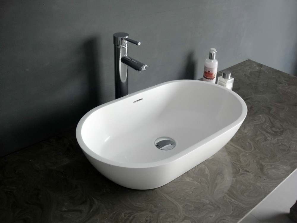 Aliexpress com   Buy counter top wash basin solid surface sink stone basin  bathroom basin from Reliable basin gold suppliers on Jingzun sanitaryware  co  ltd. Aliexpress com   Buy counter top wash basin solid surface sink