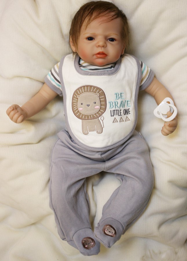 55 cm silicone doll reborn toys for girls baby toys doll npkdoll baby toy 22inch lifelike dolls babies children new year's gifts 14inch plush doll toys for children silicone reborn alive babies lifelike kids toys sleep reborn doll for children kid toy