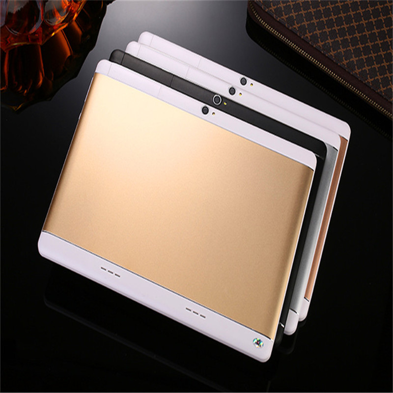 CARBAYSTAR 10.1 inchT100 Android 6.0 tablets computer Smart android Tablet Pcs, Octa core dual sim card Tablets pc Rose gold