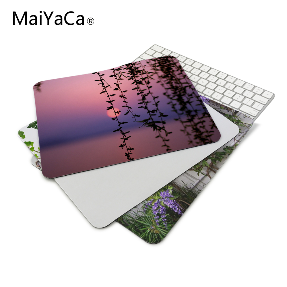 landscapes vines custom design mouse pad computer 180mmx220mmx2mm gaming mousepads in mouse pads. Black Bedroom Furniture Sets. Home Design Ideas