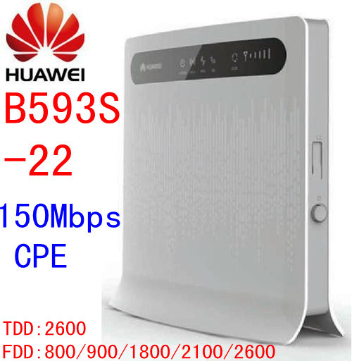 150mbps 4g Huawei B593s-22 150Mbps 4G lte CPE wifi Wireless Router 4g lte Wifi Mobile dongle pk b593-22 e5172 b593 e5172-515 купить в Москве 2019