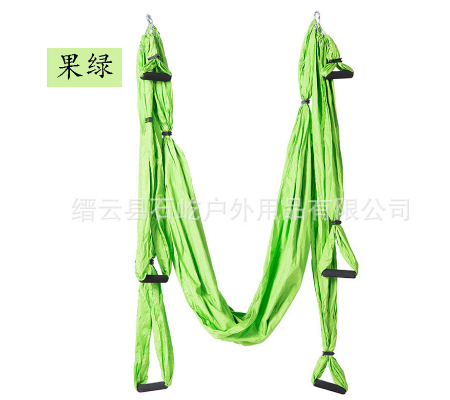 Yoga Belts Careful Whole Sale 10pcs/lot Large Bearing Flying Yoga Swing Sling Hammock Trapeze Gym Aerial Inversion Tool Size 2.5x1.5m Yoga