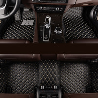 Kalaisike Custom Car Floor Mats For Jeep All Models Grand Cherokee Renegade Compass Commander Cherokee Car
