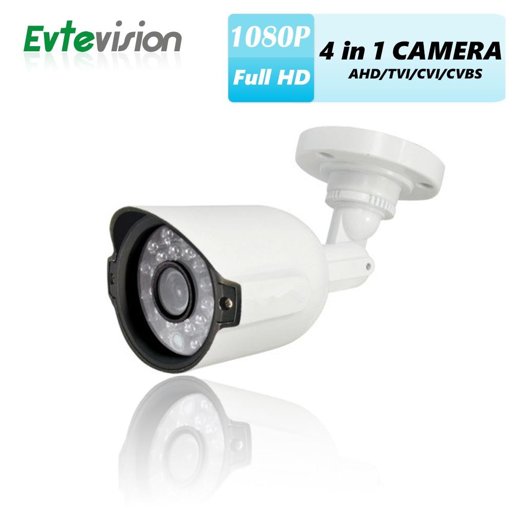 ФОТО Evtevision 1080P AHD Camera 4 in 1 AHD/TVI/CVI/CVBS AR0237 2.0Megapixel 3.6MM Fixed Lens 1080P Security Camera 20M Night vision