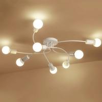 الحديث بسيط دائري المعيشة إضاءة السقف مصابيح السقف غرفة نوم دافئة رقيقة جدا أدت أضواء السقف