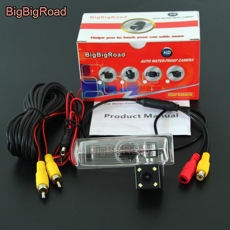 Камера заднего вида BigBigRoad, парковочная камера для Lexus RX330 RX350 RX400h RX 330 350 400h 2004 2005 2006 2007 2008 2009